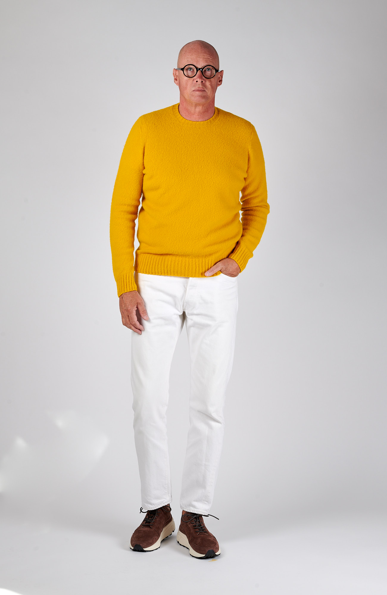 6117 Drumohr Brushed Geelong Sweater